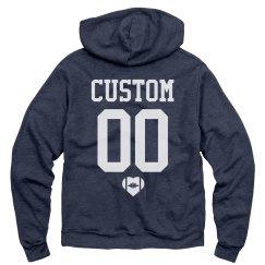 Custom Name Number Back Football GF