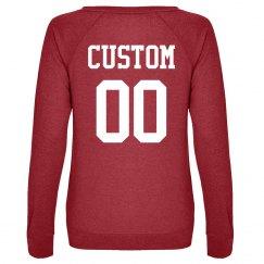 Custom Football Name/Number Back