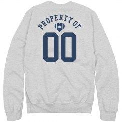 Property Of # Football Girlfriend