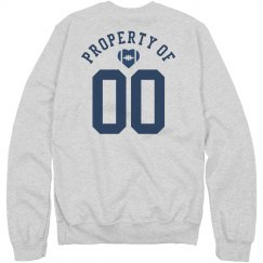 Property Of # Football Girlfriend