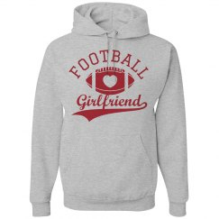 Football Girlfriend Hoodies