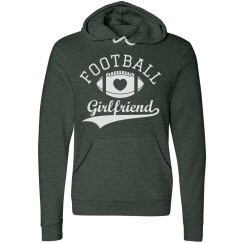 Soft Football Girlfriend Hoodies