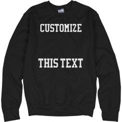 Custom Football Sweatshirts