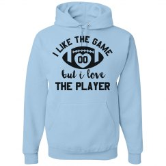 Custom Football Girlfriend Hoodies