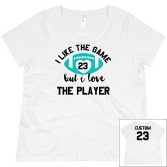 Custom Love The Player Plus Size