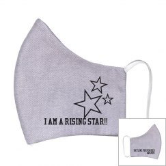You are a raising star!! mask (adult)