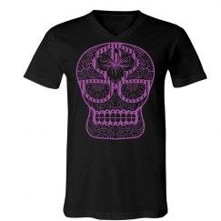 Purple Neon Skull