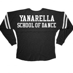 Yanarella Long Sleeve Varsity Tee