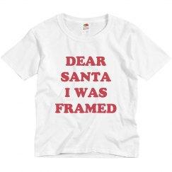 Dear Santa I Was Framed