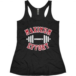 Maximum Effort Lifting Tank