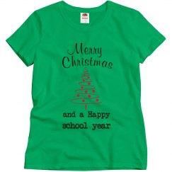 Merry Christmas teacher