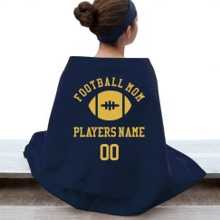 Custom Football Mom Fan