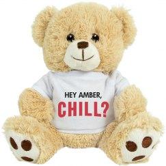 Custom Netflix & Chill VDay Bear