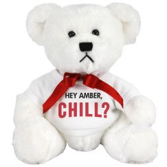 Custom Netflix & Chill VDay Bear