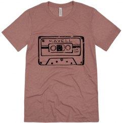 Cassette Tape | Unisex Triblend Tee