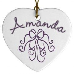 Ballet Name Ornament