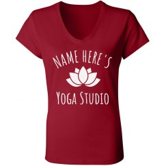 Personalized Name Yoga Studio