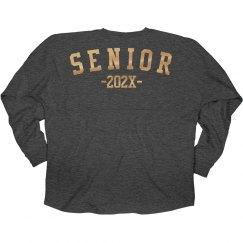 Red Metallic 2017 Seniors Jersey