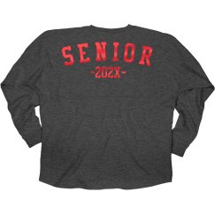 Red Metallic 2020 Seniors Jersey