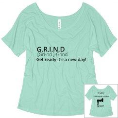 Grind definition tee