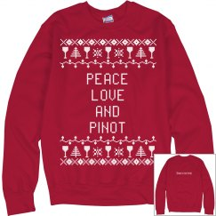 Peace, love and pinot