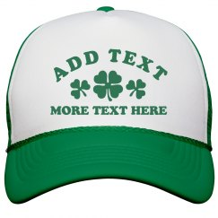 Custom St. Patrick's Day Hat