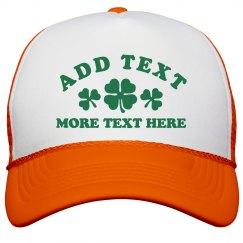 Custom St. Patrick's Day Cap