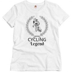 Cycling legend shirt