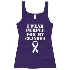 Alzheimer's I Wear Purple