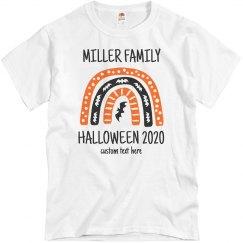 Custom Matching Halloween Family Tees