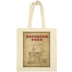 Reindeer Feed Tote Bag