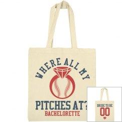Baseball Bachelorette Party Favor Bag 2
