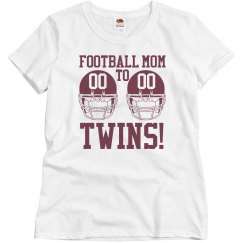 Budget Priced Football Mom to Football Twins Shirt