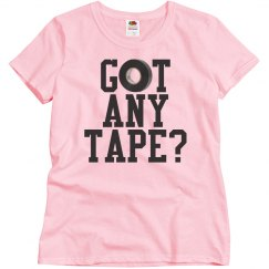 Got Any Tape Color Guard Shirts