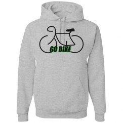 Go Bike - Unisex Nu-blend Hoodie Sweatshirt
