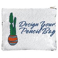 Design Your Own Pencil Sequin Bag