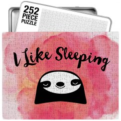 Cute I Like Sleeping Sloth