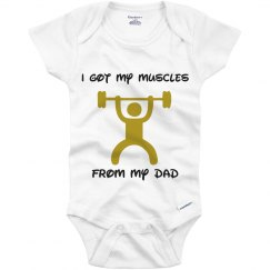 Got My Muscles from Dad
