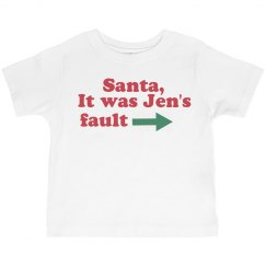 Santa, It Was Sis' Fault