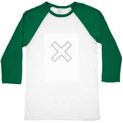 X Baseball tee