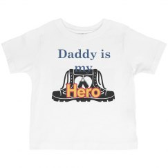 Daddy is hero