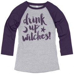 Witches Get Drunk On Halloween