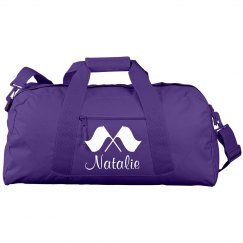 Color Guard Auxiliary Gear Bag With Custom Name