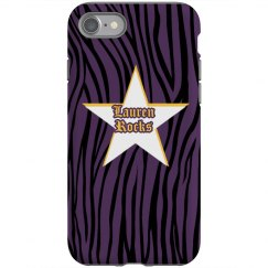 Zebra Destressed iPhone