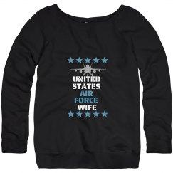 USAF Wife Sweater