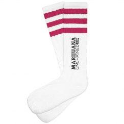 Black & White Munch Socks