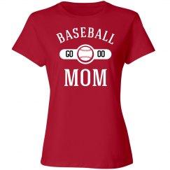 Players Number Baseball Mom