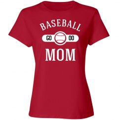 Players Number Baseball Mom