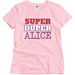 Super Duper Alice