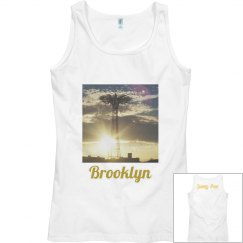 Coney Island Brooklyn Tank- Jazzy Art